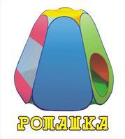 """Дет. палатка №6 """"Ромашка"""" 125х140х115"""
