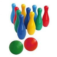 Набор детский для игры в  боулинг (кегли маленькие)