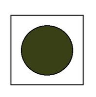 Краска для сборных моделей - Зеленая защитная