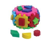 """Детский логический куб """"Гексогон 1"""" (сортер-пазл)"""