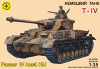 """Модель сборная """"Немецкий танк T-IV Ausf.H/J"""" 1:35"""