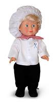 Кукла Митя Кулинар со звуковым устройством 35 см