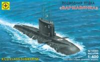 """Модель сборная """"Подводная лодка """"Варшавянка"""" 1:400"""