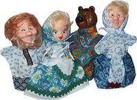 """Детский кукольный театр ПКФ """"Машенька и Медведь"""" (4 персонажа)"""