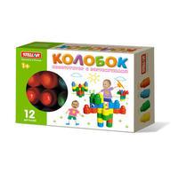 Детский Конструктор детский колобок 12 дет. в коробке