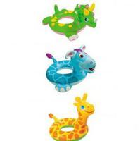 """Плавательный круг для детей """"Животные"""" 81x56см"""
