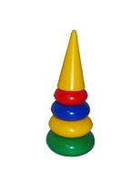 Дет. пирамидка35см