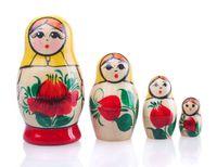 """Матрешка  """"Россияночка"""" (3 куклы)"""