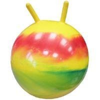 """Мяч для гимнастики с рожками """"Радужный""""  (диаметр 55 см)"""