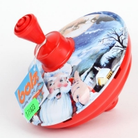 "Юла ""Санта клаус"" (13см)"