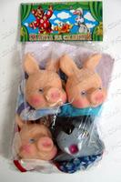 Детский кукольный театр Три Поросенка (в пакете)