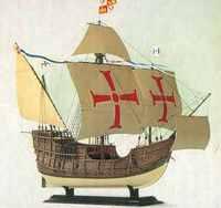 "Модель корабля ""Санта-мария"""