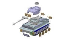 """Модель сборная для склеивания Немецкий танк Т-VI """"Тигр"""""""