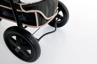 Дет. прогулочная трехколесная коляска Viper (цвет caviar/grey)