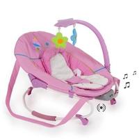 Детский шезлонг Leisure e-motion с музыкальной системой (цвет buterfly)