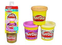 PLAY-DOH Набор детскийпластилина для десертов из 3-х банок